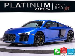 Used 2017 Audi R8 5.2 quattro V10 Plus, 610HP, LEMANS PKG, CERAMICS for sale in Toronto, ON