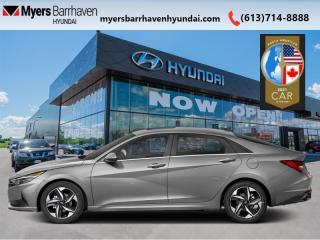 New 2021 Hyundai Elantra Ultimate IVT  - Sunroof -  Leather Seats - $194 B/W for sale in Nepean, ON