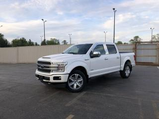 Used 2018 Ford F-150 Platinum Crew 4WD for sale in Cayuga, ON