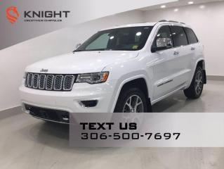 New 2021 Jeep Grand Cherokee Overland for sale in Regina, SK