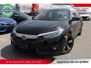 Used 2018 Honda Civic Touring | CVT | Navigation for sale in Whitby, ON