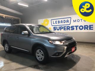 Used 2020 Mitsubishi Outlander S-AWC Super-All Wheel Drive * 7 Passenger * 8 inch Smartphone Link Display, Android Auto, Apple CarPlay, 6 speakers, Bluetooth hands-free cellular pho for sale in Cambridge, ON