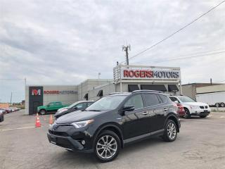 Used 2016 Toyota RAV4 Hybrid 2.99% Financing - LTD AWD - NAVI - SUNROOF - LEATHER for sale in Oakville, ON