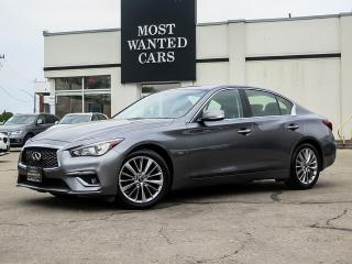Used 2018 Infiniti Q50 AWD|SIGNATURE EDITION|NAVIGATION|CAMERA for sale in Kitchener, ON