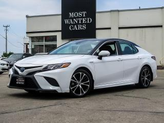 Used 2019 Toyota Camry HYBRID SE|HYBRID|LEATHER|BLIND SPOT|SUNROOF for sale in Kitchener, ON