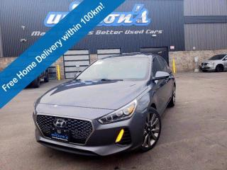Used 2018 Hyundai Elantra GT Sport Ultimate Navigation, Pano sunroof, Leather, Lane departure, Adaptive Cruise, and More! for sale in Guelph, ON