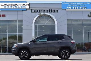 Used 2020 Jeep Compass Trailhawk!! LEATHER!! SELEC-TERRAIN 4X4!! HEATED SEATS!! for sale in Sudbury, ON