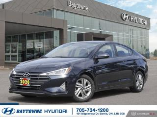 Used 2020 Hyundai Elantra Preferred IVT for sale in Barrie, ON