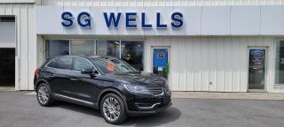 Used 2018 Lincoln MKX Reserve for sale in Ingleside, ON