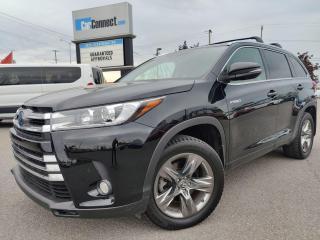 Used 2017 Toyota Highlander Hybrid LIMITED for sale in Ottawa, ON