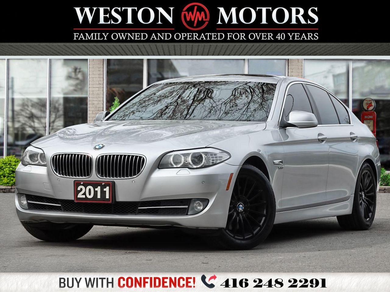 2011 BMW 5 Series 535I XDRIVE*FULLY LOADED!!*