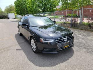 Used 2013 Audi A4 quattro w/SUNROOF & MORE // MINT SHAPE!!! for sale in North York, ON