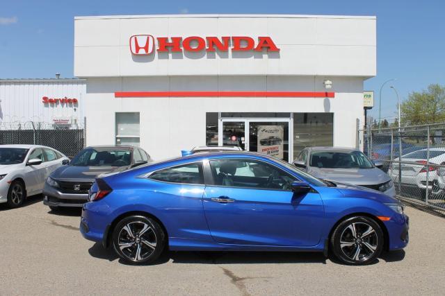 2017 Honda Civic Touring Coupe LEATHER NAVI HONDA CERTIFIED