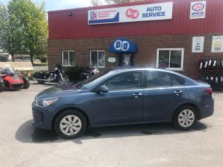 Used 2018 Kia Rio LX, LOW KM'S !! ONLY $83 Bi Weekly OAC* for sale in Kingston, ON