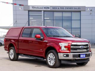 Used 2015 Ford F-150 Lariat ROOF   NAV   20s   LOW KM   for sale in Winnipeg, MB