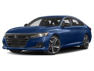 New 2021 Honda Accord SE for sale in Winnipeg, MB