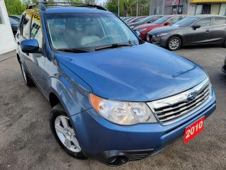 Used 2010 Subaru Forester X sport/AWD/AUTO/LOADED/ALLOYS/CLEAN CAR FAX for sale in Scarborough, ON