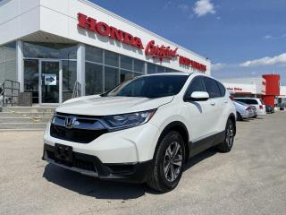 Used 2018 Honda CR-V LX AWD | APPLE CARPLAY | LOCAL | for sale in Winnipeg, MB