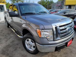 Used 2011 Ford F-150 XLT/4WD/CREW CAP/LOADED/ALLOYS for sale in Scarborough, ON