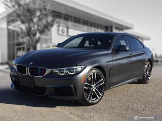 Used 2018 BMW 4 Series 440i xDrive GC! Red Leather! Enhanced! M Performance! for sale in Winnipeg, MB