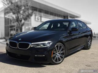 Used 2018 BMW 5 Series 540i xDrive Driver Assist Plus! Interior Comfort! Enhanced! for sale in Winnipeg, MB