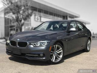 Used 2016 BMW 3 Series 328i xDrive Local! Premium Enhanced! Sport Line! for sale in Winnipeg, MB