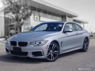 Used 2017 BMW 4 Series 440i xDrive Coupe! Accident Free! M Performance! for sale in Winnipeg, MB