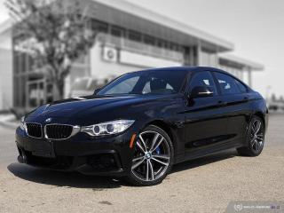 Used 2017 BMW 4 Series 440i xDrive M Performance! Enhanced! Accident Free! 2 New Tires! for sale in Winnipeg, MB