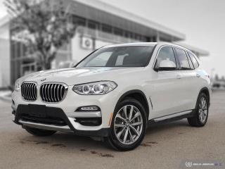 Used 2019 BMW X3 xDrive30i Premium Enhanced! Vented Seats! Harman/Kardon! for sale in Winnipeg, MB