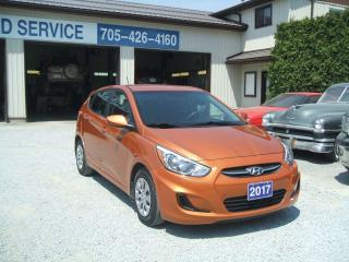 Used 2017 Hyundai Accent HATCHBACK for sale in Beaverton, ON