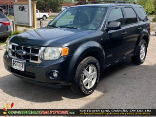 Used 2008 Ford Escape XLT LOW KM NO ACCIDENT 4WD WARRANTY CERTIFIED for sale in Oakville, ON