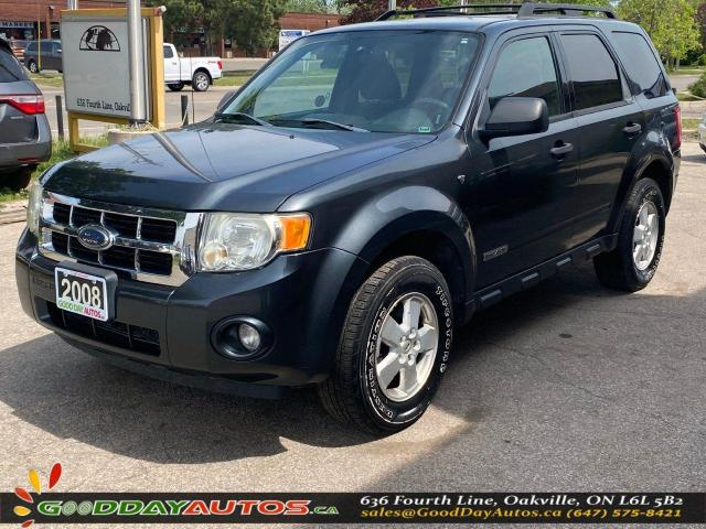 2008 Ford Escape XLT|LOW KM|NO ACCIDENT|4WD|WARRANTY|CERTIFIED