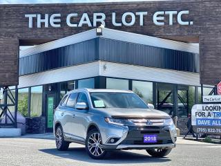 Used 2018 Mitsubishi Outlander ES 7 SEATER!! SUNROOF!! BLUTOOTH!!  HEATED SEATS!! BACK-UP CAM!! for sale in Sudbury, ON
