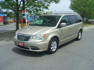 Used 2012 Chrysler Town & Country TOURING     DVD     NAVIGATION   REVERSE CAM for sale in York, ON