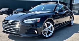 Used 2018 Audi A5 AUDI A5 PREMIUM 2.0 TFSI QUATTRO KOMFORT S TRONIC for sale in Burlington, ON
