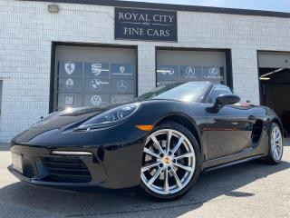 Used 2017 Porsche 718 Boxster BORDEAUX RED INTERIOR / VENTILATED SEATS / PDK for sale in Guelph, ON