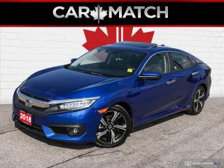 Used 2018 Honda Civic TOURING / NAV / ROOF / LEATHER for sale in Cambridge, ON