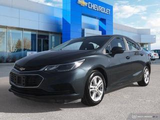 Used 2017 Chevrolet Cruze LT Bluetooth | Heated Seats | Rear View Camera for sale in Winnipeg, MB