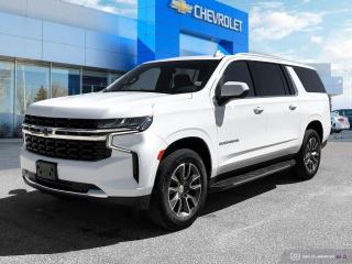 New 2021 Chevrolet Suburban LS #1 GM store in Manitoba! for sale in Winnipeg, MB