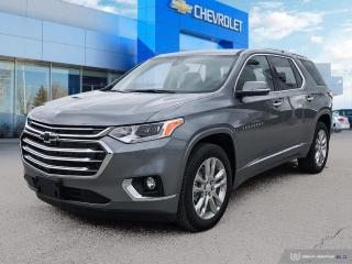 New 2021 Chevrolet Traverse High Country #1 GM store in Manitoba! for sale in Winnipeg, MB