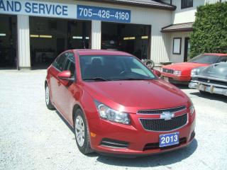 Used 2013 Chevrolet Cruze LT for sale in Beaverton, ON