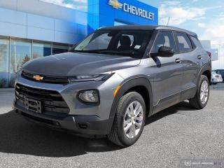"New 2021 Chevrolet TrailBlazer LS ""Fall into Savings!"" for sale in Winnipeg, MB"