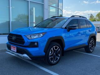 Used 2019 Toyota RAV4 Trail TRAIL+PLATINUM WARRANTY-100,000 KMS! for sale in Cobourg, ON