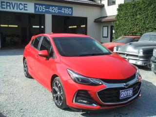 Used 2019 Chevrolet Cruze LT, RS Package, Hatchback for sale in Beaverton, ON