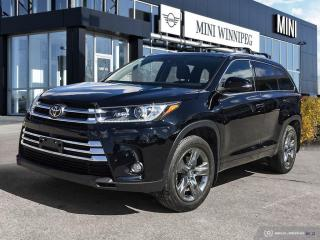 Used 2017 Toyota Highlander Limited Low Mileage! Accident Free! for sale in Winnipeg, MB