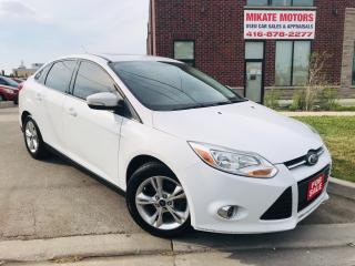 Used 2013 Ford Focus SE~Sunroof~B.T.~Heated Seats~Clean Car History! for sale in Rexdale, ON