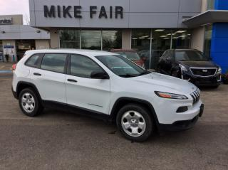 Used 2015 Jeep Cherokee Sport Power Door Locks, Power Steering, Child Safety Locks for sale in Smiths Falls, ON