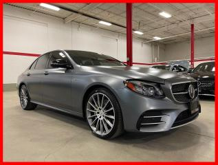 Used 2018 Mercedes-Benz E-Class E43 AMG 4MATIC DISTRONIC AMG DRIVER TECHNOLOGY PREMIUM MATTE for sale in Vaughan, ON