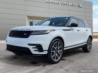 New 2021 Land Rover Range Rover Velar R-Dynamic HSE for sale in Winnipeg, MB