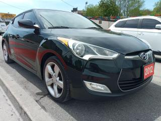 Used 2012 Hyundai Veloster 170K-MANUAL-BK UP CAM-BLUETOOTH-AUX-USB-ALLOYS for sale in Scarborough, ON
